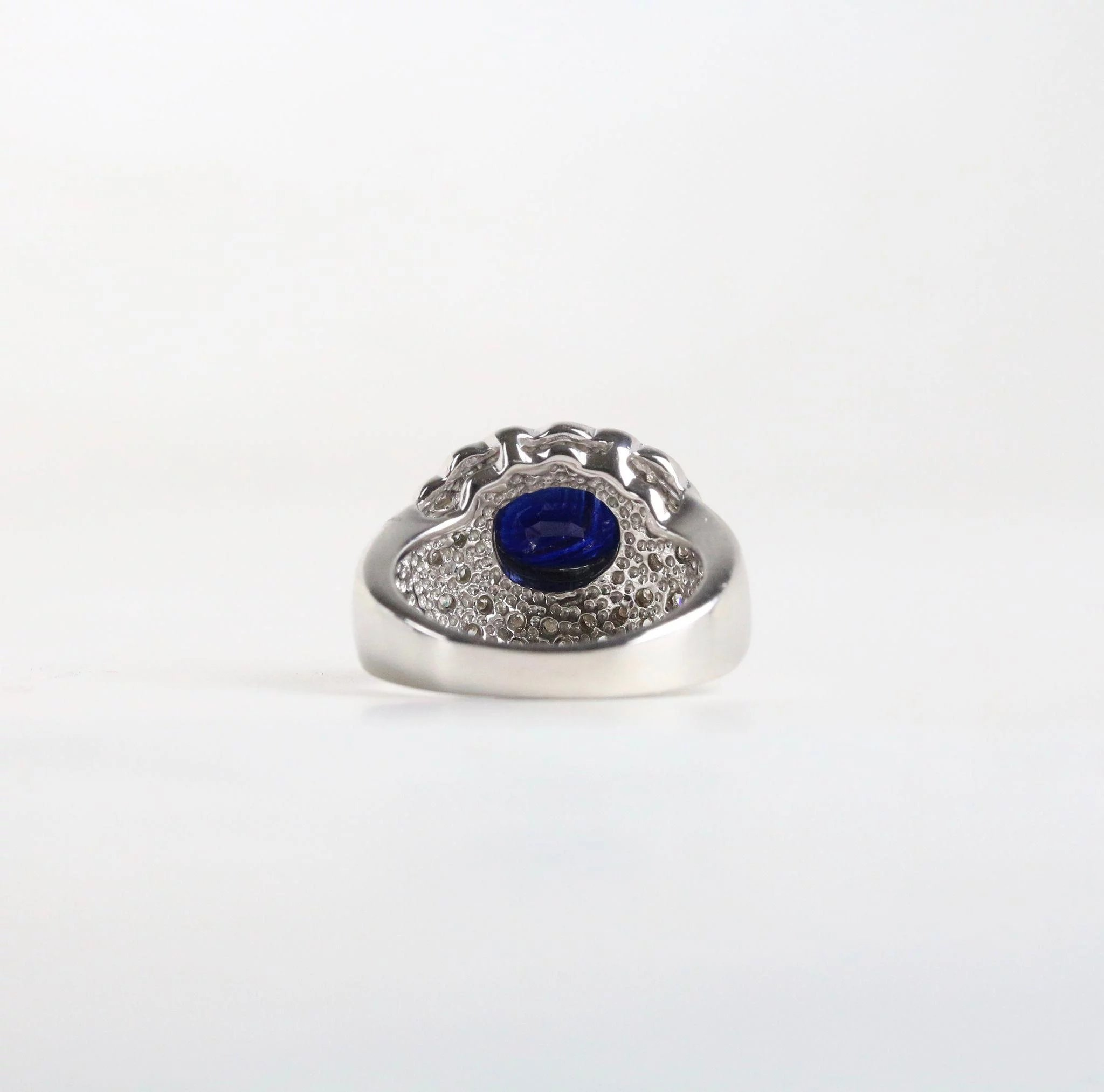 cut views ct sapphire i dark blue ring more cushion ceylon a royal platinum
