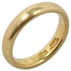 Antique Tiffany & Co 22K Yellow Gold Wedding Band Stacking Ring