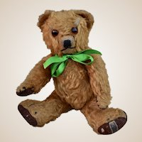 A good example of a Merrythought teddy bear, 1950s