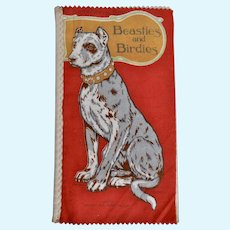 A rare Dean's Rag Book Beasties and Birdies circa 1914,