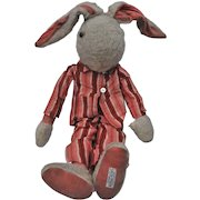 Rare 1930s Alpha Farnell rabbit in pyjamas