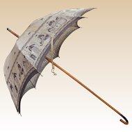 Very rare Charlie Chaplin parasol 1920s