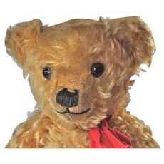 A beautiful 1930s Chiltern Hugmee teddy bear,