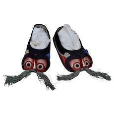 Unusual Vintage Chinese children's shoes,