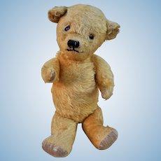 A very sweet Dean's Rag Book teddy bear 1950s,