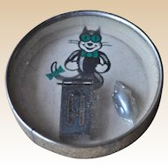 Rare German Felix the Cat dexterity puzzle, 1920s