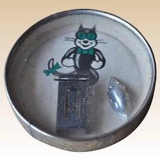 Rare German Felix the Cat dexterity puzzle, 1920s
