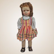 A rare French Venus girl doll, 1930s