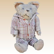 An amazing character French teddy bear, 1920/30s