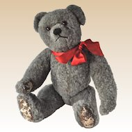 Rare Farnell grey wool plush teddy bear