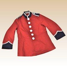 Rare Harrods child's play uniform jacket, circa 1910