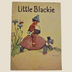 Little Blackie by Piet Broos printed by Sandle Brothers Ltd London,