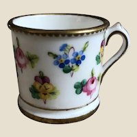 A beautiful hand-painted Minton doll's mug circa 1910,