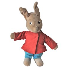 A rare Merrythought Disney Piglet from Winnie the Pooh 1960s
