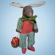 A 1930s French Easter rabbit