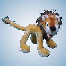 A charming comic Schuco bigo-bello lion with label