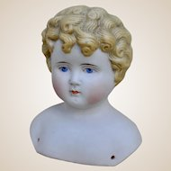 An Alt, Beck & Gottschalck 1064 bisque shoulder head,