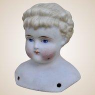 A German bisque shoulder head mark 978,