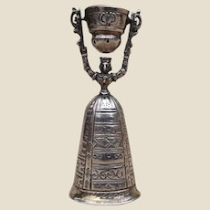 A continental silver Berthold Muller miniature wager cup 925,