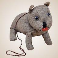 An unusual 2nd WW war-time homemade bulldog,