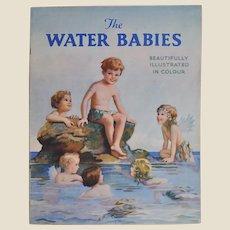 The Water Babies Juvenile Production Ltd soft back book, 1940s