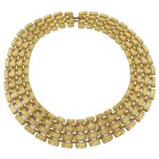 Vintage Napier Egyptian Revival Collar Necklace