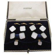 Vintage Austin Reed London Mother of Pearl Men's Cufflink Button Set