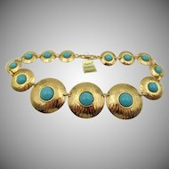 "Vintage Napier ""Turquoise Collection"" Necklace"