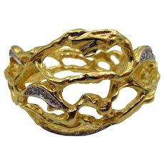Elizabeth Taylor Treasured Vine Bracelet in Original Box