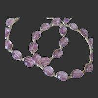 Gem Amethyst Hoop Earrings by Pilula Jula 'Ambitious'