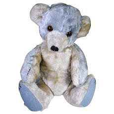 Blueboy Rare Blue Chad valley Cubby bear circa 1930's