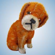 Rare Schuco yes/no orange dog.