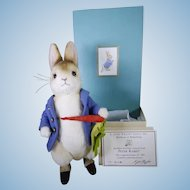 R John Wright Peter rabbit Mint and boxed.