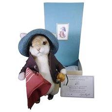 R John Wright Benjamin Bunny mint and boxed.
