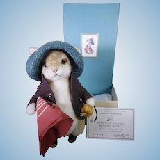 R John Wright Benjamin Bunny mint and boxed.