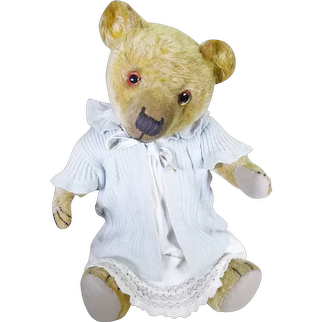 Miss Bluebell English bear circa 1920