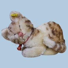 Steiff Snurry cat circa 1960's