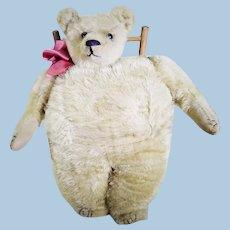Rare Strunz teddy bear muff circa 1909