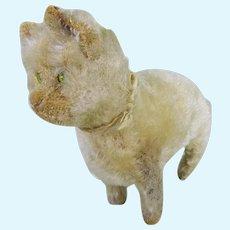 Early Steiff cat circa 1910