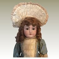 Kestner 146 Antique Bisque Headed Doll 75 cm