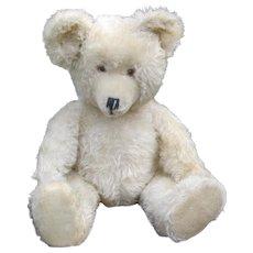 German White Mohair Teddy bear by Diem