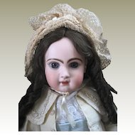 Size 11 Jumeau French Bebe doll fully marked