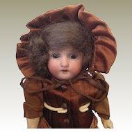 Small Heubach Koppelsdorf bisque head doll