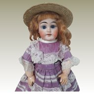 13 inch bisque headed doll made for the French market