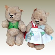 Goldilocks - Daddy and Mummy bear