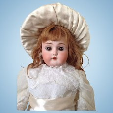 Kestner 166 kid bodied girl doll