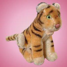 Rare Steiff Bengal Tiger 14 cm