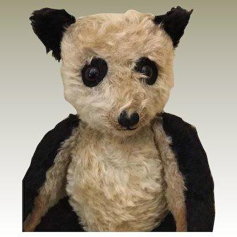 Chiltern Mohair Panda Bear - Late 1940's