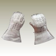 Fashion doll kid leather gloves