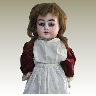 "20"" Alma Antique bisque head doll."